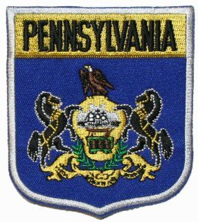 US State of Pennsylvania shield Flag Embroidered Applique Patch