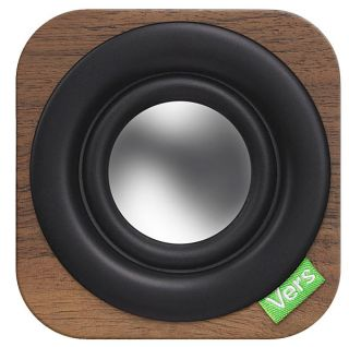 Vers 1Q: Wood Cube Portable Bluetooth Sound System