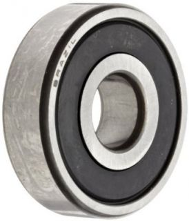 "NSK 6203 625VVC3 Deep Groove Ball Bearing, Single Row, Double Non Contact Seals, Pressed Steel Cage, C3 Clearance, Metric, 5/8"" ID, 40mm OD, 12mm Width, 17000rpm Maximum Rotational Speed, 1079lbf Static Load Capacity, 2147lbf Dynamic Load Capacity: In"