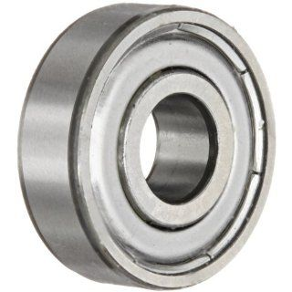 SKF 625 Z Radial Bearing, Single Row, Deep Groove Design, ABEC 1 Precision, Single Shield, Non Contact, Normal Clearance, Steel Cage, 5mm Bore, 16mm OD, 5mm Width: Deep Groove Ball Bearings: Industrial & Scientific