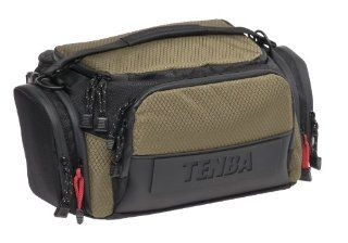 Tenba 632 611 Shootout Medium Shoulder Bag (Black/Olive)  Photographic Equipment Bag Accessories  Camera & Photo