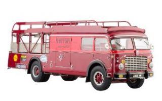 Classic Model Cars Ferrari Race car Transporter Type Fiat 642 RN2, Team Ferrari 1957: Toys & Games