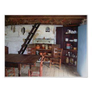 Lincoln Log Cabin Framed Print