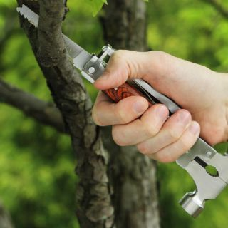 Mo Tool Wood Inlay Axe