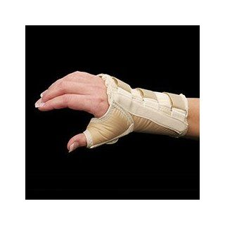 Wrist and Thumb Spica Splint   Left   S [Health and Beauty]: Health & Personal Care