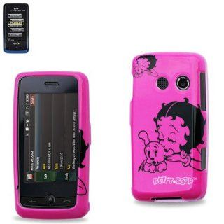 Pink Betty Boop Protector Case Cover for LG Rumor Touch/Banter Touch: Cell Phones & Accessories