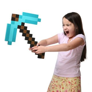 Minecraft Foam Diamond Pickaxe