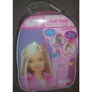 Barbie Doll Stylish Store and Carry Case with Straps Toys & Games