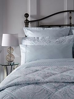 Christy Palace bed linen range in moonlight