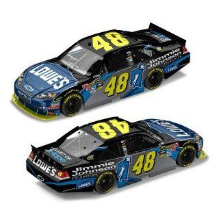 2010 Jimmie Johnson #48 Lowes Jimmie Johnson Foundation Paint Scheme Impala 1/24 Scale Action Racing Limited Edition Only 1087 Total ProductionHood, Trunk, Roof Flaps Open, Individually Serialized Toys & Games