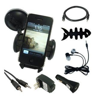 7 in All Accessories Kits Car Holder USB Chargers Headphone for Apple ipod Touch 2G 3G 4G Gen   Players & Accessories