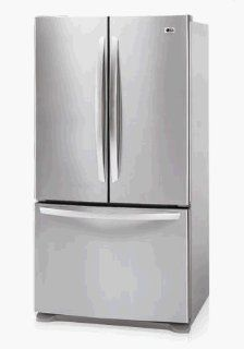 LG Electronics LFC25770ST 25.0 Cu. Ft. French Door Bottom Freezer Refrigerator, Stainless Steel: Appliances