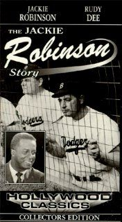 Jackie Robinson Story [VHS]: Jackie Robinson, Ruby Dee, Minor Watson, Louise Beavers, Richard Lane, Harry Shannon, Ben Lessy, William 'Bill' Spaulding, Billy Wayne, Joel Fluellen, Bernie Hamilton, Kenny Washington, Ernest Laszlo, Alfred E. Green, J