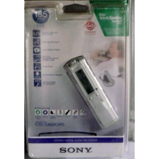 Sony ICDSX68DR9 Digital Voice Recorder with Dragon NaturallySpeaking RE Software Electronics
