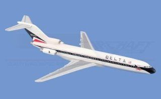Mini Boeing 727 200, Delta Airlines Airplane Model Toy. The Model plane includes desk stand. Toys & Games