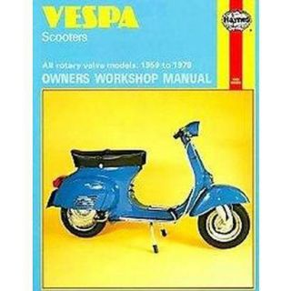 Vespa Scooters Owners Workshop Manual (Paperback)