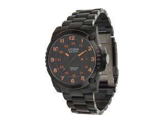 Citizen Watches Bj8075 58f Eco Drive Stx43 Shock Proof Titanium Watch Black