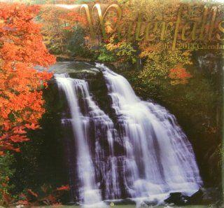 2013 Waterfalls 16 Month Wall Calendar 12 x 11