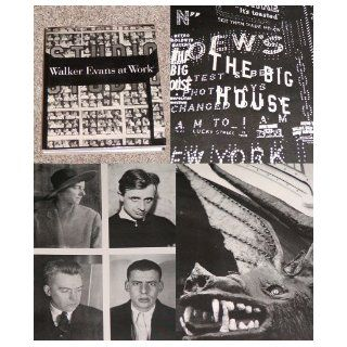 Walker Evans at work 745 photographs together with documents selected from letters, memoranda, interviews, notes (9780060111045) Walker Evans, John T. Hill, Jerry L. Thompson Books