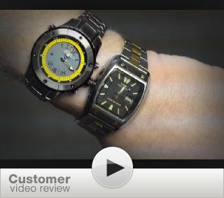 National Geographic Men's NG751GKBS TimeTrekker Ana Digi Chronograph Tachymeter Watch NaTional Geographic Watches