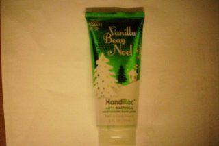 Bath and Body Works Anti Bacterial VANILLA BEAN NOEL Moisturizing Hand Lotion 2 FL OZ : Antibacterial Hand Cream : Beauty