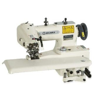 Reliable MSK 755 Blindstitch Sewing Machine with Skip Stitch Function and Sewquiet Servomotor