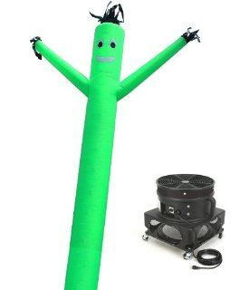 Torero Inflatables Air Dancer Sky Puppet and Blower Set, 20 Feet, Green : Sports Inflation Devices : Sports & Outdoors