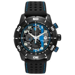 men s citizen eco drive primo chronograph watch with black dial model