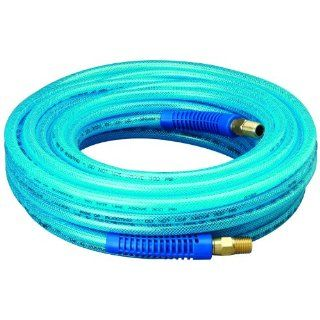 "Amflo 12 50E Blue 300 PSI Polyurethane Air Hose 1/4"" x 50' With 1/4"" MNPT Swivel Ends And Bend Restrictor Fittings Air Tool Hoses Industrial & Scientific"