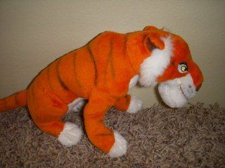 "Disney Shere Khan the Tiger From Jungle Book 12"" Long Plush: Toys & Games"