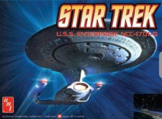 AMT PLASTIC MODEL KITS   1/2500 Star Trek USS Enterprise NCC1701(Snap Kit) (Pl Toys & Games