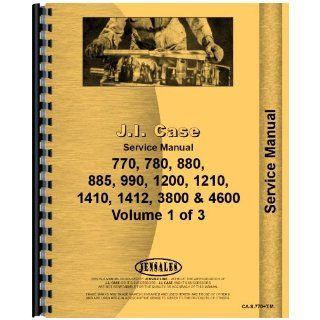 Case 780 Tractor Manual Service Manual Jensales Ag Products Books