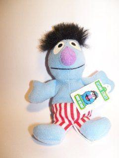 Sesame Street Kellogg's 1999 Mini Beans Herry Monster Toy Plush