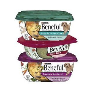Beneful Prepared Meals Meat Lovers Variety Pack Dog Food Tubs  Canned Wet Pet Food