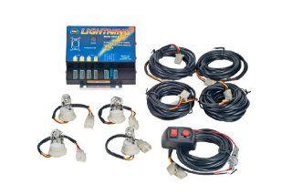 Wolo 8004 1CCCC Hideaway 80 Watt Power Supply and Four Bulb Strobe Light Kit Automotive