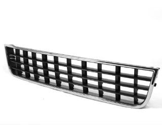 Front Bumper Center Lower Chrome Vent Grille Grill for Audi A6 C5 02 05 2002 2003 2004 2005 Parts Number 4B0 807 683L 01C Brand: Automotive