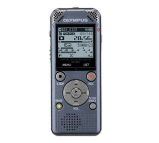 Olympus WS 802 4 GB Digital Voice Recorder With MICRO SD Card Slot and USB Direct Connector   Gray Electronics
