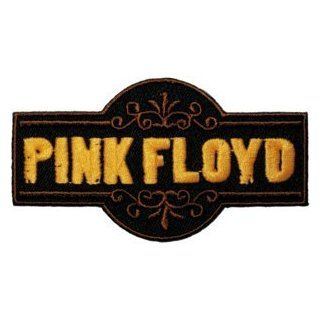 Pink Floyd Fancy Logo Rock Roll Music Band Embroidered Iron On Patch Clothing