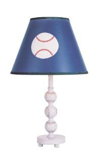 Trans Globe Lighting KDL 812 1 LT Kids Baseball Theme Table Lamp, 19.75 Inch