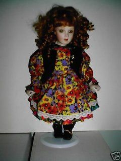 Oh Suzannah Porcelain Doll Toys & Games