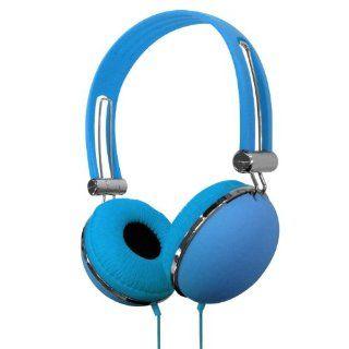 VIBE VS 830 DJ BLU Soft Touch Headphones Electronics