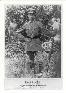 Historic Print (L): Caption title: Horst Wessel als Zeitfreiwilliger bei der Reichswehr