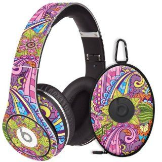 Kaleidoscope Decal Skin for Beats Studio Headphones & Carrying Case by Dr. Dre: Electronics