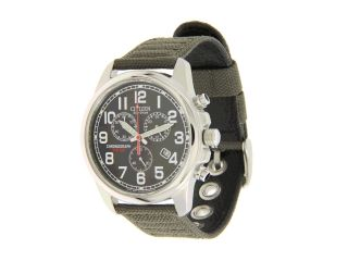 Citizen Watches AT0200 05E Eco Drive Chronograph Canvas Watch