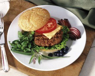 Kobe Beef Burger Patties   Case of 20 half pound burgers : Beef Steaks : Grocery & Gourmet Food