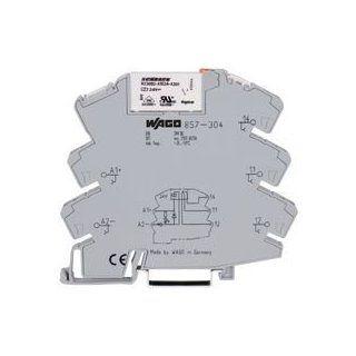 WAGO 857 304 POWER RELAY, 1CO, 24VDC, 5A, DIN RAIL Industrial & Scientific