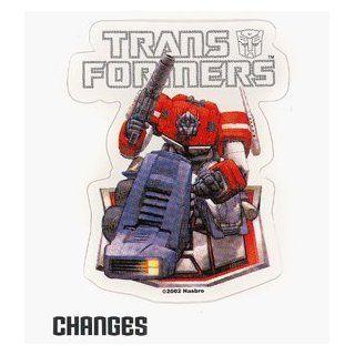 Transformers G1 Optimus Prime Autobot Dreamwave Sticker 78 175: Toys & Games