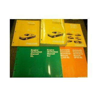 1996 Mazda Millenia Service Repair Shop Manual HUGE SET OEM FACTORY BOOKS 96 (Service Manual, the Electrical Wiring Diagram Manual, the Service Highlights Manual, the LJ4A EL Automatic Transaxle Manual, the KJ Engine Workshop Manual, the KL Engine Workshop