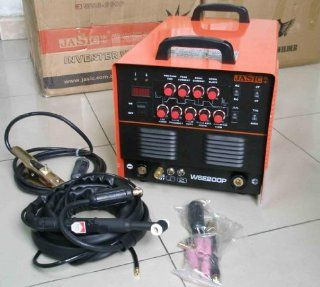 WSE200P AC/DC TIG/MMA PULSE WELDER & 1 YEAR WARRANTY: Health & Personal Care