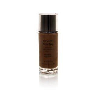 Revlon Colorstay Makeup, SPF 12, with Soft Flex, Normal / Dry Skin, Mocha 450, 1 Pack  Foundation Makeup  Beauty